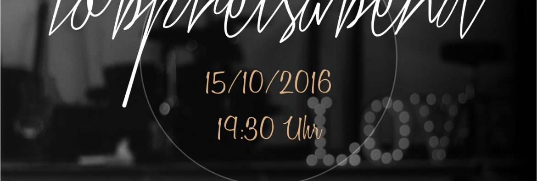 Lobpreisabend 15/10/2016 um 19:30 Uhr